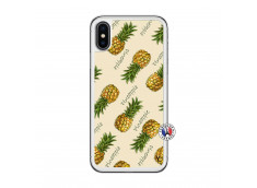 Coque iPhone X/XS Sorbet Ananas Translu