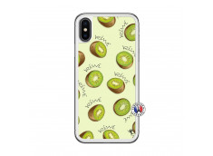 Coque iPhone X/XS Sorbet Kiwi Translu