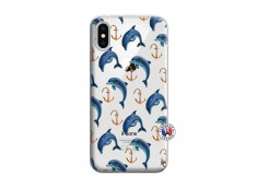 Coque iPhone X/XS Dauphins