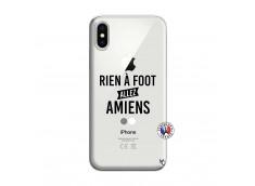 Coque iPhone X/XS Rien A Foot Allez Amiens