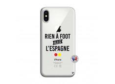 Coque iPhone X/XS Rien A Foot Allez L'Espagne