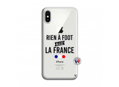 Coque iPhone X/XS Rien A Foot Allez La France