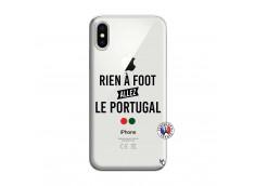 Coque iPhone X/XS Rien A Foot Allez Le Portugal