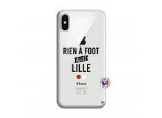 Coque iPhone X/XS Rien A Foot Allez Lille