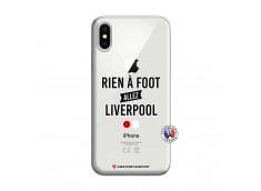 Coque iPhone X/XS Rien A Foot Allez Liverpool