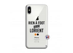 Coque iPhone X/XS Rien A Foot Allez Lorient