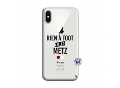 Coque iPhone X/XS Rien A Foot Allez Metz