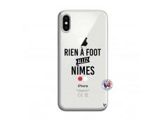 Coque iPhone X/XS Rien A Foot Allez Nimes