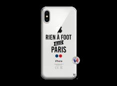 Coque iPhone X/XS Rien A Foot Allez Paris
