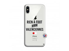 Coque iPhone X/XS Rien A Foot Allez Valenciennes