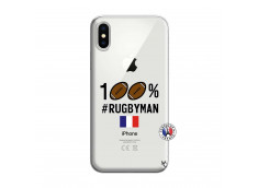 Coque iPhone X/XS 100% Rugbyman