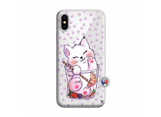 Coque iPhone X/XS Smoothie Cat