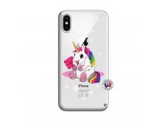 Coque iPhone X/XS Sweet Baby Licorne