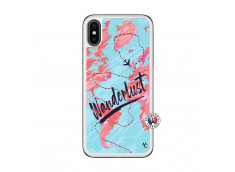 Coque iPhone X/XS Wanderlust Translu