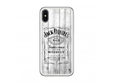 Coque iPhone X/XS White Old Jack Translu