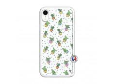 Coque iPhone XR Le Monde Entier est un Cactus Translu