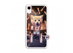 Coque iPhone XR Cat Nasa Translu