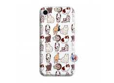Coque iPhone XR Cat Pattern