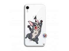 Coque iPhone XR Dog Impact