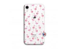 Coque iPhone XR Flamingo