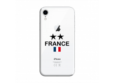 Coque iPhone XR France 2 Etoiles