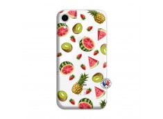 Coque iPhone XR Multifruits