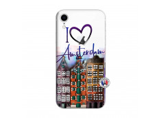 Coque iPhone XR I Love Amsterdam