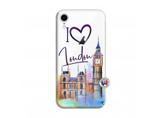 Coque iPhone XR I Love London