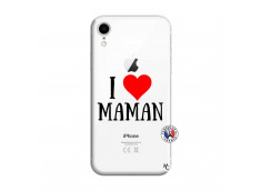 Coque iPhone XR I Love Maman