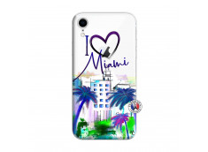 Coque iPhone XR I Love Miami