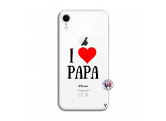 Coque iPhone XR I Love Papa