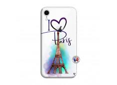 Coque iPhone XR I Love Paris