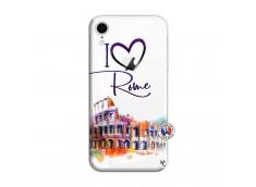 Coque iPhone XR I Love Rome