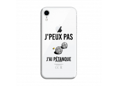 Coque iPhone XR J Ai Petanque