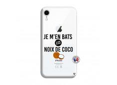 Coque iPhone XR Je m'en bats Les Noix De Coco