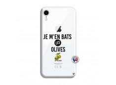 Coque iPhone XR Je M En Bas Les Olives