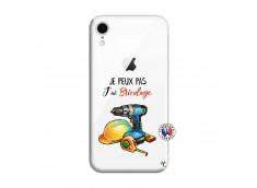 Coque iPhone XR Je Peux Pas J Ai Bricolage