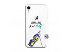 Coque iPhone XR Je Peux Pas J Ai Golf