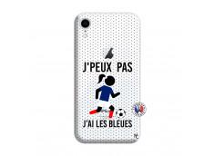 Coque iPhone XR Je Peux Pas J Ai Les Bleues Maillot