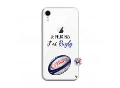 Coque iPhone XR Je Peux Pas J Ai Rugby