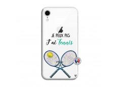 Coque iPhone XR Je Peux Pas J Ai Tennis