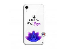 Coque iPhone XR Je Peux Pas J Ai Yoga