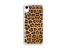 Coque iPhone XR Leopard Style Translu
