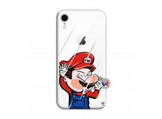 Coque iPhone XR Mario Impact