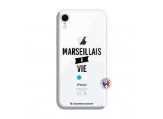 Coque iPhone XR Marseillais à Vie