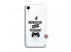 Coque iPhone XR Monsieur Mauvais Perdant