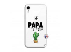 Coque iPhone XR Papa Tu Piques