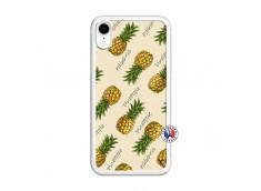 Coque iPhone XR Sorbet Ananas Translu