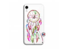 Coque iPhone XR Pink Painted Dreamcatcher