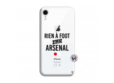 Coque iPhone XR Rien A Foot Allez Arsenal